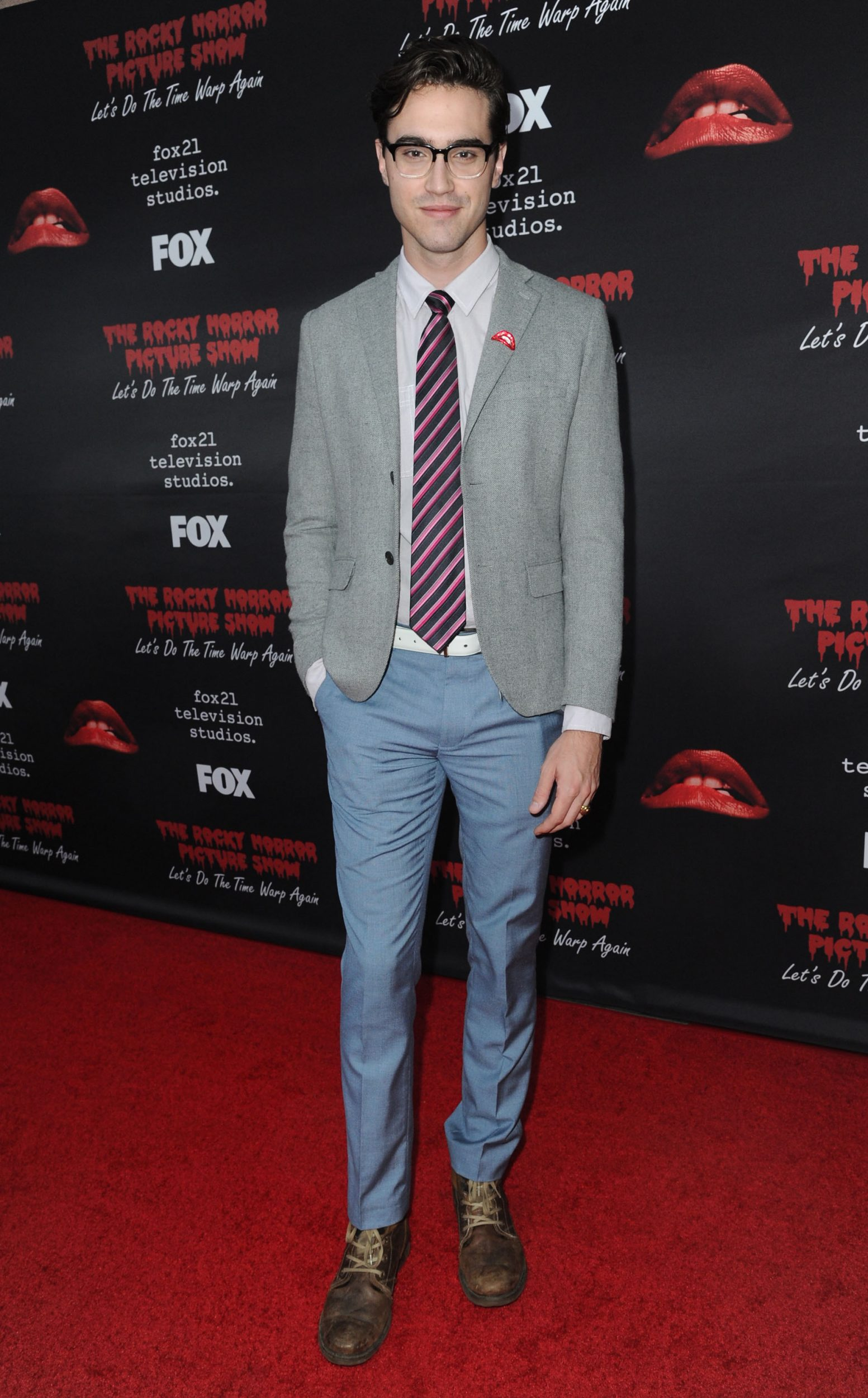 THE ROCKY HORROR PICTURE SHOW: Let's Do The Time Warp Again (and Transylvanians!): Cast member Ryan MCartan arrives at THE ROCKY HORROR PICTURE SHOW: Let's Do The Time Warp Again (and Transylvanians!) premiere party red carpet at The Roxy on Thursday, Oct. 13, in Los Angeles, CA. THE ROCKY HORROR PICTURE SHOW: Let's Do The Time Warp Again (And Transylvanians!) premieres Thursday, Oct. 20 (8:00-10:00 PM ET/PT) on FOX. © 2016 FOX BROADCASTING CR: Richard Shotwell/FOX