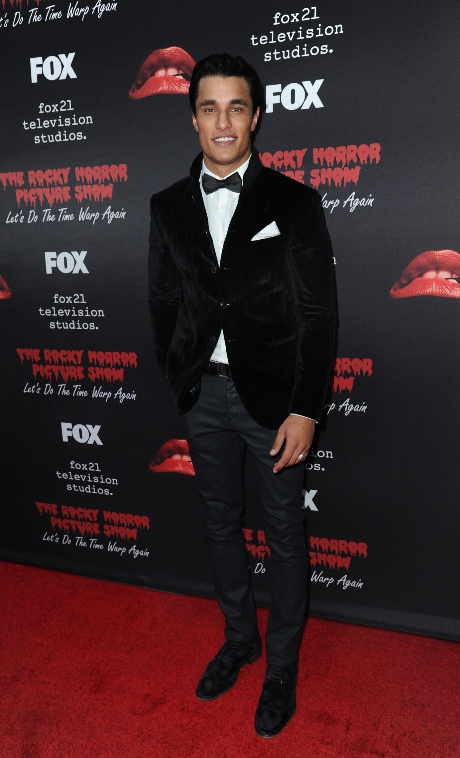 THE ROCKY HORROR PICTURE SHOW: Let's Do The Time Warp Again (and Transylvanians!): Cast member Staz Nair arrives at THE ROCKY HORROR PICTURE SHOW: Let's Do The Time Warp Again (and Transylvanians!) premiere party red carpet at The Roxy on Thursday, Oct. 13, in Los Angeles, CA. THE ROCKY HORROR PICTURE SHOW: Let's Do The Time Warp Again (And Transylvanians!) premieres Thursday, Oct. 20 (8:00-10:00 PM ET/PT) on FOX. © 2016 FOX BROADCASTING CR: Richard Shotwell/FOX