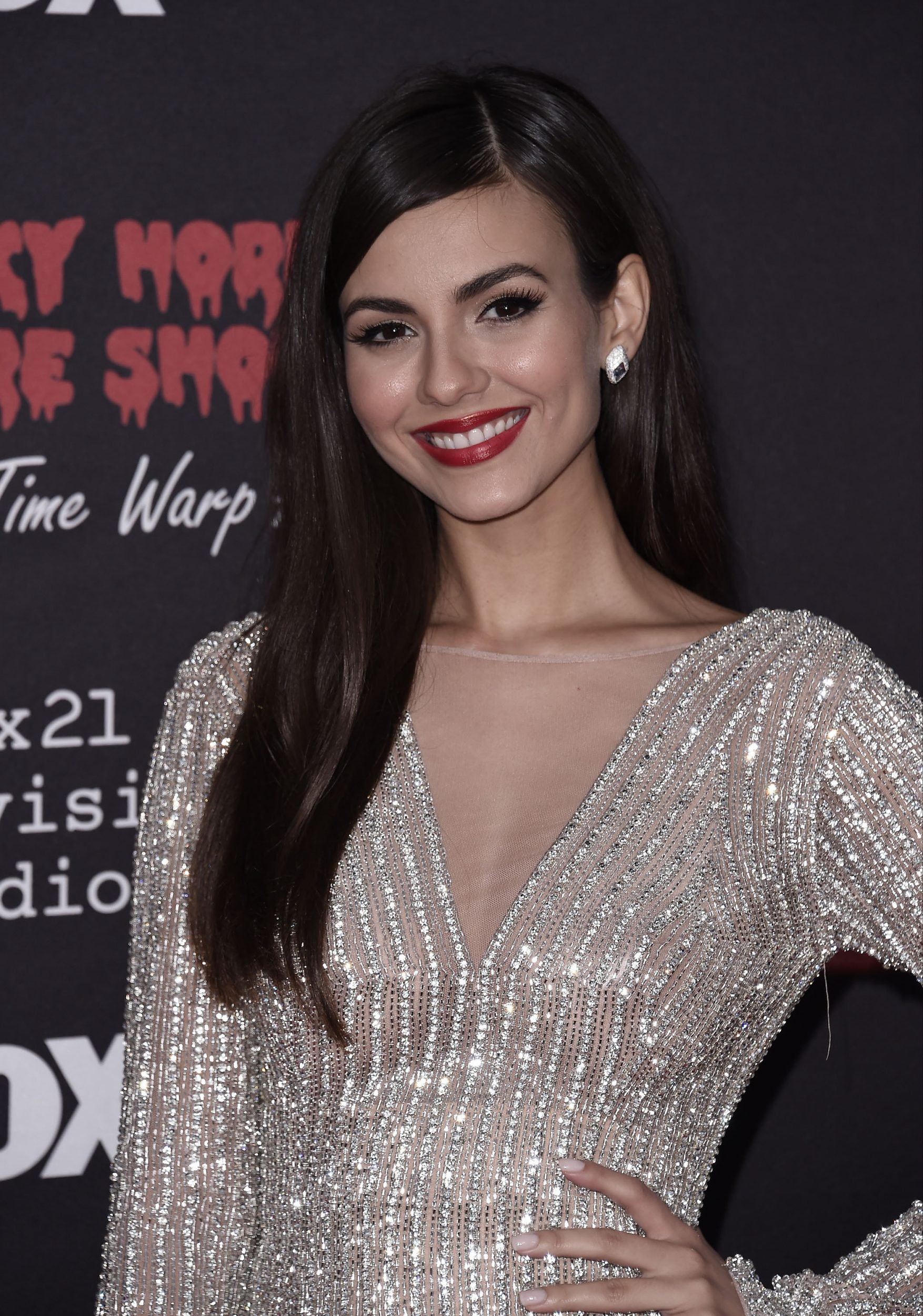 THE ROCKY HORROR PICTURE SHOW: Let's Do The Time Warp Again (and Transylvanians!): Cast member Victoria Justice arrives at THE ROCKY HORROR PICTURE SHOW: Let's Do The Time Warp Again (and Transylvanians!) premiere party red carpet at The Roxy on Thursday, Oct. 13, in Los Angeles, CA. THE ROCKY HORROR PICTURE SHOW: Let's Do The Time Warp Again (And Transylvanians!) premieres Thursday, Oct. 20 (8:00-10:00 PM ET/PT) on FOX. © 2016 FOX BROADCASTING CR: Scott Kirkland/FOX