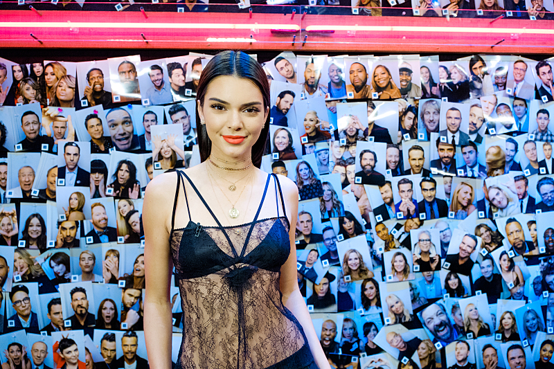 """Kendall Jenner backstage during """"The Late Late Show with James Corden,"""" Friday, November 11, 2016 (12:35 PM-1:37 AM ET/PT) On The CBS Television Network.  Photo: Terence Patrick/CBS ©2016 CBS Broadcasting, Inc. All Rights Reserved"""