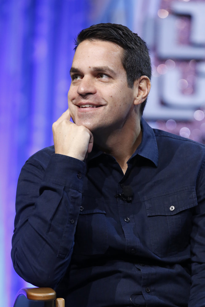"""HAIRSPRAY LIVE! -- """"Hairspray Live! Press Junket -- Pictured: Dave Karger, Moderator -- (Photo by: Trae Patton/NBC)"""