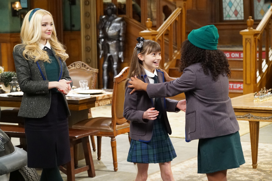 "LIV AND MADDIE - ""Slumber Party-A-Rooney"" - Liv throws a sleepover to help Ruby and her co-star Priya become better friends. Meanwhile, Joey meets a new nemesis and Parker reveals a big surprise to Maddie. This episode of ""Liv and Maddie: Cali Style"" airs Friday, November 25 (9:00 - 9:30 P.M. EST) on Disney Channel. (Disney Channel/Ron Tom) DOVE CAMERON, LAUREN LINDSEY DONZIS"