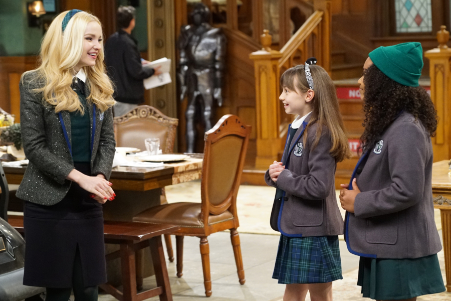 "LIV AND MADDIE - ""Slumber Party-A-Rooney"" - Liv throws a sleepover to help Ruby and her co-star Priya become better friends. Meanwhile, Joey meets a new nemesis and Parker reveals a big surprise to Maddie. This episode of ""Liv and Maddie: Cali Style"" airs Friday, November 25 (9:00 - 9:30 P.M. EST) on Disney Channel. (Disney Channel/Ron Tom) DOVE CAMERON, LAUREN LINDSEY DONZIS, LAYA DELEON HAYES"