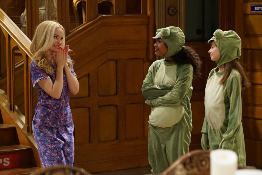 "LIV AND MADDIE - ""Slumber Party-A-Rooney"" - Liv throws a sleepover to help Ruby and her co-star Priya become better friends. Meanwhile, Joey meets a new nemesis and Parker reveals a big surprise to Maddie. This episode of ""Liv and Maddie: Cali Style"" airs Friday, November 25 (9:00 - 9:30 P.M. EST) on Disney Channel. (Disney Channel/Ron Tom) DOVE CAMERON, LAYA DELEON HAYES, LAUREN LINDSEY DONZIS"