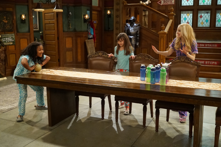 "LIV AND MADDIE - ""Slumber Party-A-Rooney"" - Liv throws a sleepover to help Ruby and her co-star Priya become better friends. Meanwhile, Joey meets a new nemesis and Parker reveals a big surprise to Maddie. This episode of ""Liv and Maddie: Cali Style"" airs Friday, November 25 (9:00 - 9:30 P.M. EST) on Disney Channel. (Disney Channel/Ron Tom) LAYA DELEON HAYES, LAUREN LINDSEY DONZIS, DOVE CAMERON"