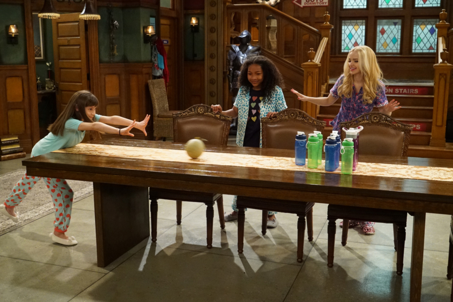"LIV AND MADDIE - ""Slumber Party-A-Rooney"" - Liv throws a sleepover to help Ruby and her co-star Priya become better friends. Meanwhile, Joey meets a new nemesis and Parker reveals a big surprise to Maddie. This episode of ""Liv and Maddie: Cali Style"" airs Friday, November 25 (9:00 - 9:30 P.M. EST) on Disney Channel. (Disney Channel/Ron Tom) LAUREN LINDSEY DONZIS, LAYA DELEON HAYES, DOVE CAMERON"