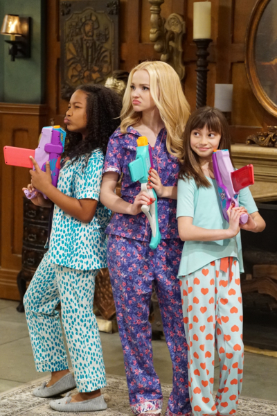 "LIV AND MADDIE - ""Slumber Party-A-Rooney"" - Liv throws a sleepover to help Ruby and her co-star Priya become better friends. Meanwhile, Joey meets a new nemesis and Parker reveals a big surprise to Maddie. This episode of ""Liv and Maddie: Cali Style"" airs Friday, November 25 (9:00 - 9:30 P.M. EST) on Disney Channel. (Disney Channel/Ron Tom) LAYA DELEON HAYES, DOVE CAMERON, LAUREN LINDSEY DONZIS"