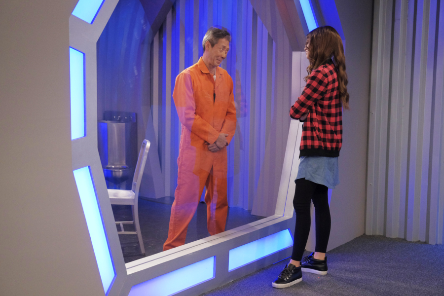 """K.C. UNDERCOVER - """"Trust No One"""" - When K.C.'s latest mission is compromised, she is tasked to find the mole in The Organization. This episode of """"K.C. Undercover"""" airs Sunday, November 13 (8:00 - 8:30 P.M. EST) on Disney Channel. (Disney Channel/Tony Rivetti) FRANCOIS CHAU"""