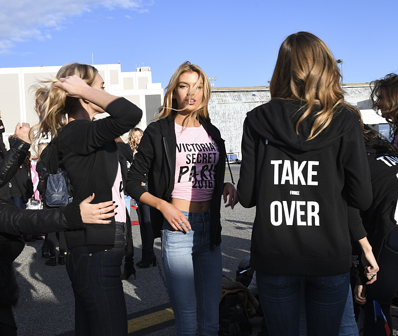 """For the first time, the Victoria's Secret Angels are filmed in Paris for THE VICTORIA'S SECRET FASHION SHOW, broadcast Monday, Dec. 5 (10:00-11:00 PM, ET/PT) on the CBS Television Network.  The world's most celebrated fashion show will be seen in more than 190 countries. Merging fashion, fantasy and entertainment, the lingerie runway show will include pink carpet interviews, model profiles, a behind-the-scenes look at the making of the show in the City of Lights and musical performances by Lady Gaga, Bruno Mars, and The Weeknd."" Pictured: Stella Maxwell. Photo: Michele Crowe/CBS ©2016 CBS Broadcasting, Inc. All Rights Reserved"