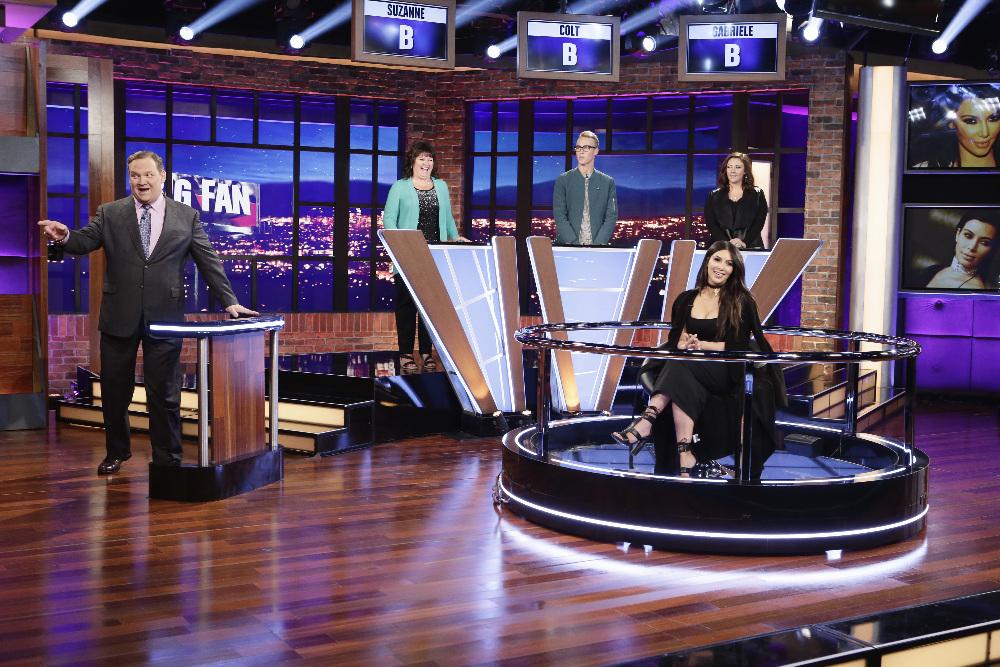 BIG FAN - Coverage. (ABC/Nicole Wilder) ANDY RICHTER, KIM KARDASHIAN WEST