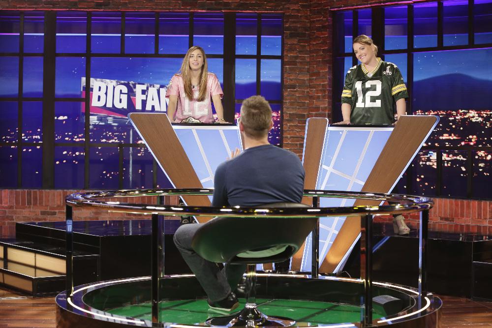 BIG FAN - Coverage. (ABC/Nicole Wilder) AARON RODGERS