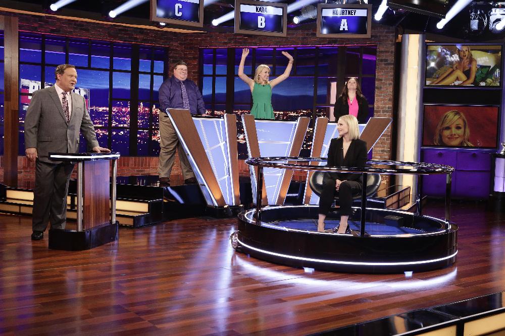 BIG FAN - Coverage. (ABC/Nicole Wilder) ANDY RICHTER, KRISTEN BELL