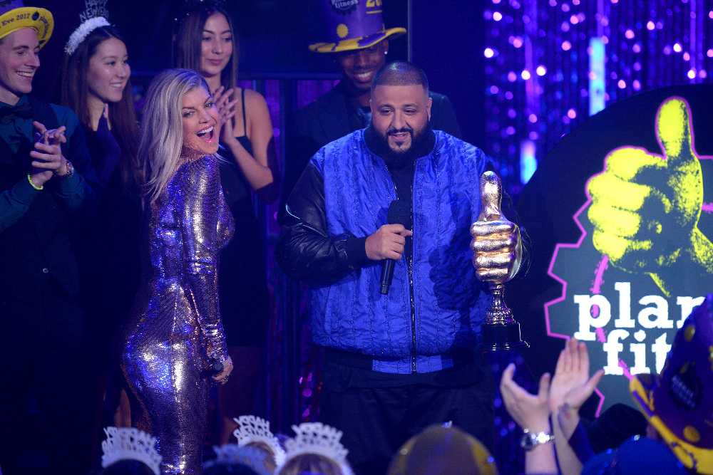 DICK CLARK'S NEW YEAR'S ROCKIN' EVE WITH RYAN SEACREST 2017 - America's biggest celebration of the year takes place on SATURDAY, DECEMBER 31, beginning at 8 p.m. EST, on the ABC Television Network. (ABC/Matt Brown) FERGIE, DJ KHALED