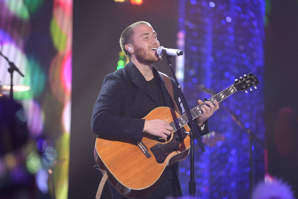 DICK CLARK'S NEW YEAR'S ROCKIN' EVE WITH RYAN SEACREST 2017 - America's biggest celebration of the year takes place on SATURDAY, DECEMBER 31, beginning at 8 p.m. EST, on the ABC Television Network. (ABC/Matt Brown) MIKE POSNER