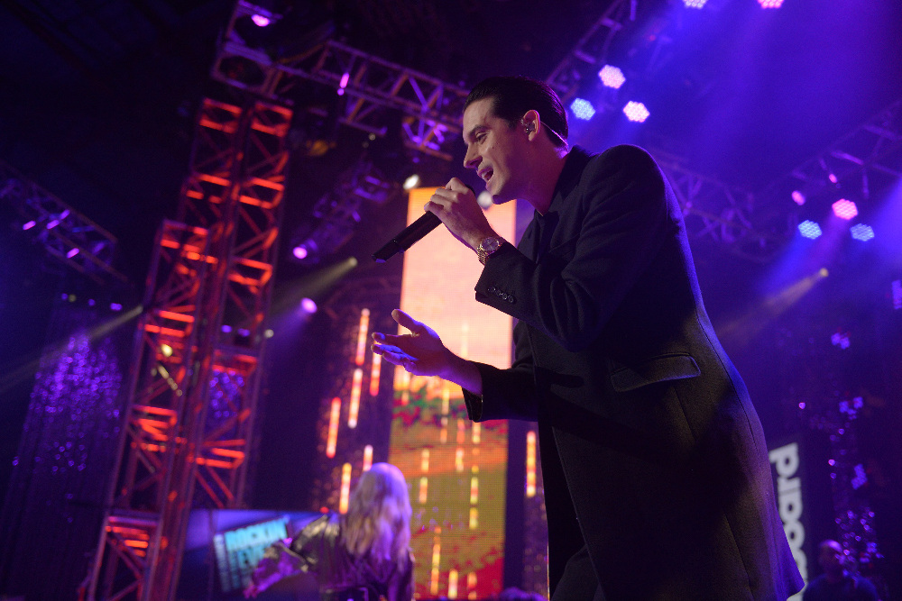 DICK CLARK'S NEW YEAR'S ROCKIN' EVE WITH RYAN SEACREST 2017 - America's biggest celebration of the year takes place on SATURDAY, DECEMBER 31, beginning at 8 p.m. EST, on the ABC Television Network. (ABC/Matt Brown) G-EAZY