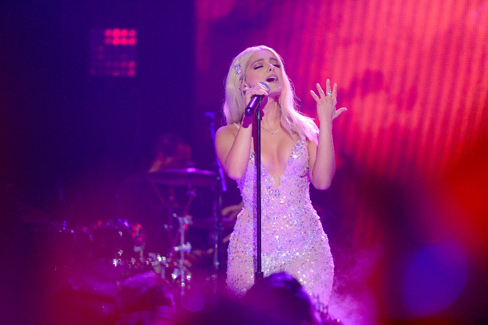 DICK CLARK'S NEW YEAR'S ROCKIN' EVE WITH RYAN SEACREST 2017 - America's biggest celebration of the year takes place on SATURDAY, DECEMBER 31, beginning at 8 p.m. EST, on the ABC Television Network. (ABC/Matt Brown) BEBE REXHA