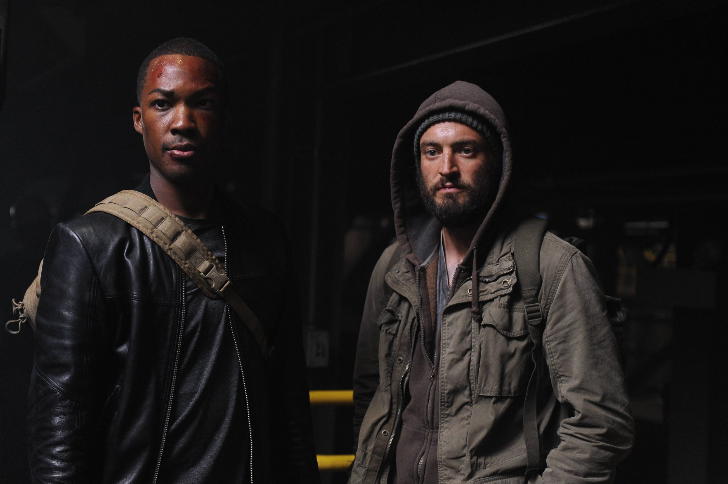 """24: LEGACY: L-R: Corey Hawkins and Charlie Hofheimer. 24: LEGACY begins its two-night premiere event following """"SUPERBOWL LI"""" on Sunday, Feb. 5, and will continue Monday, Feb. 6 on FOX. ©2016 Fox Broadcasting Co. Cr: Ray Mickshaw/FOX"""