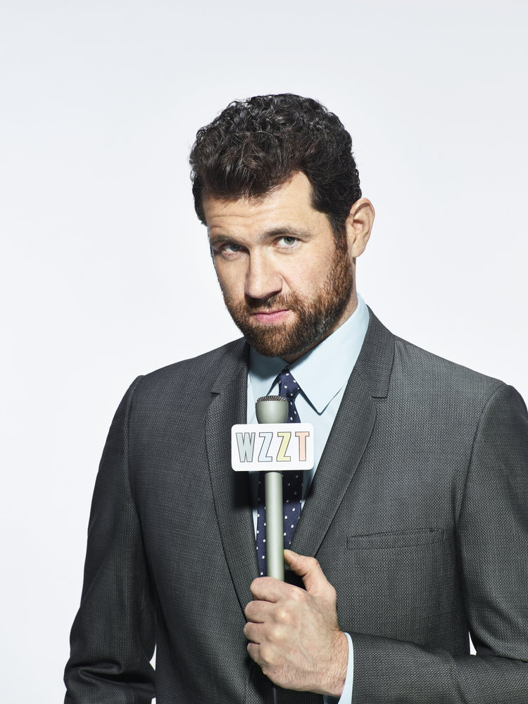 HAIRSPRAY LIVE! -- Season: 2016 -- Pictured: Billy Eichner as Rob Barker -- (Photo by: Chris Haston/NBC)