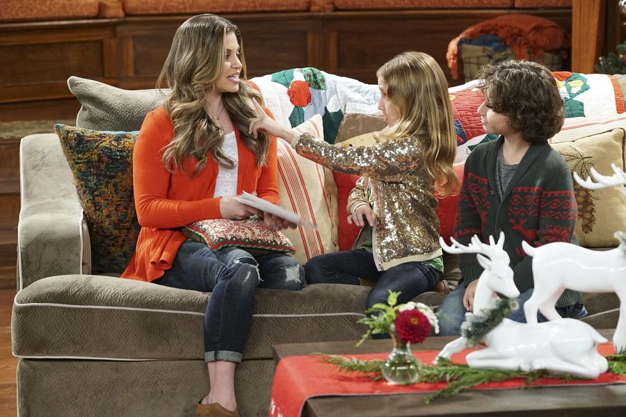 "GIRL MEETS WORLD – ""Girl Meets A Christmas Maya"" – It's the holidays and Riley is excited to celebrate her favorite time of the year, but for Maya, the holidays only bring back unhappy memories from her childhood. This episode of ""Girl Meets World"" airs Friday, December 02 (8:30 – 9:00 P.M. EST) on Disney Channel. (Disney Channel/Ron Tom) DANIELLE FISHEL, AVA KOLKER, AUGUST MATURO"