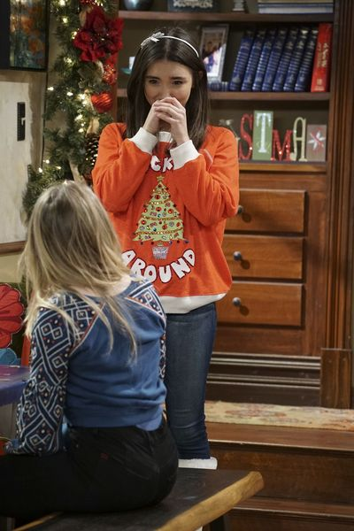 "GIRL MEETS WORLD – ""Girl Meets A Christmas Maya"" – It's the holidays and Riley is excited to celebrate her favorite time of the year, but for Maya, the holidays only bring back unhappy memories from her childhood. This episode of ""Girl Meets World"" airs Friday, December 02 (8:30 – 9:00 P.M. EST) on Disney Channel. (Disney Channel/Ron Tom) ROWAN BLANCHARD"