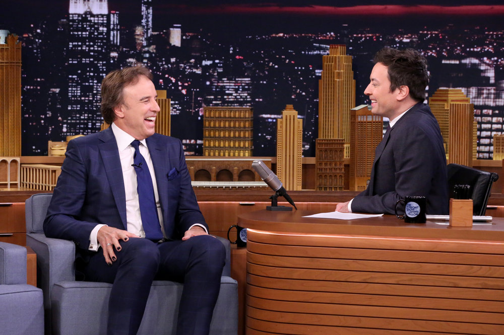 THE TONIGHT SHOW STARRING JIMMY FALLON -- Episode 0588 -- Pictured: (l-r) Actor Kevin Nealon during an interview with host Jimmy Fallon on December 09, 2016 -- (Photo by: Andrew Lipovsky/NBC)