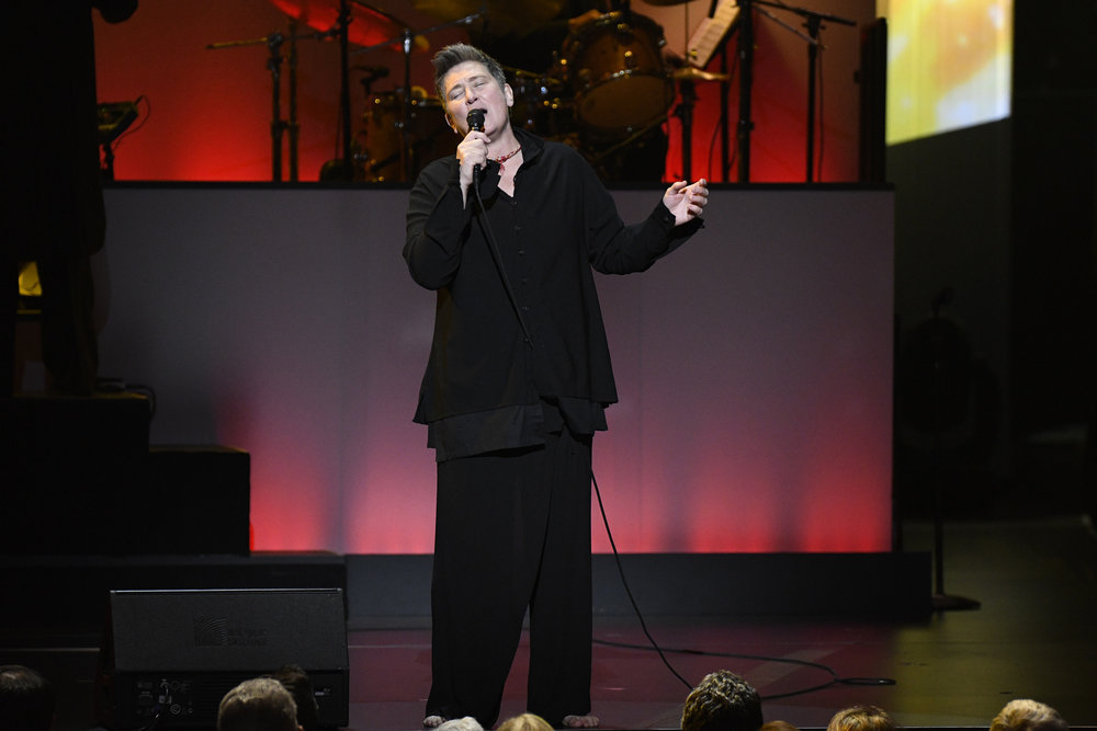 TONY BENNETT CELEBRATES 90: THE BEST IS YET TO COME -- Concert -- Pictured: k.d. lang -- (Photo by: Peter Kramer/NBC)