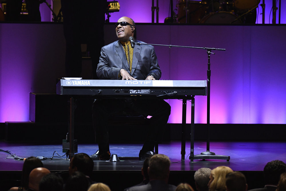 TONY BENNETT CELEBRATES 90: THE BEST IS YET TO COME -- Concert -- Pictured: Stevie Wonder -- (Photo by: Peter Kramer/NBC)