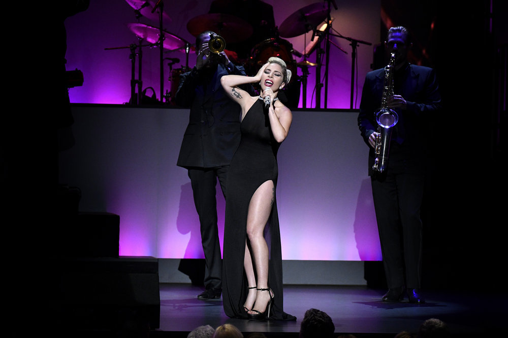 TONY BENNETT CELEBRATES 90: THE BEST IS YET TO COME -- Concert -- Pictured: Lady Gaga -- (Photo by: Peter Kramer/NBC)