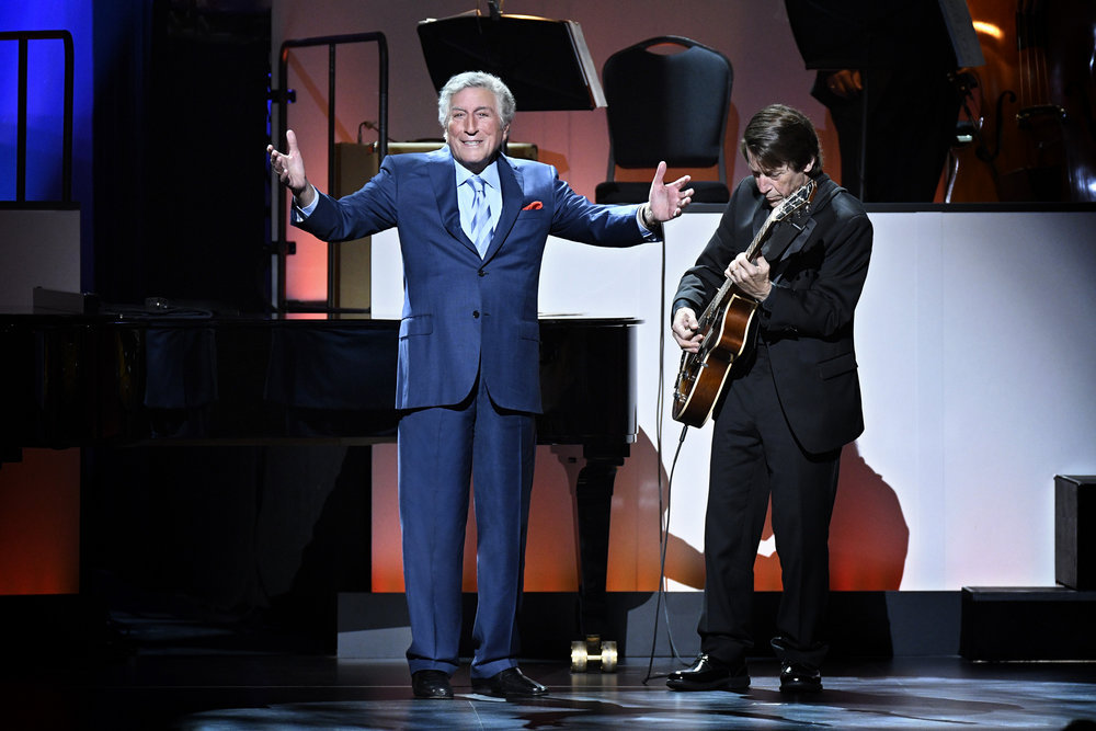 TONY BENNETT CELEBRATES 90: THE BEST IS YET TO COME -- Concert -- Pictured: Tony Bennett -- (Photo by: Peter Kramer/NBC)