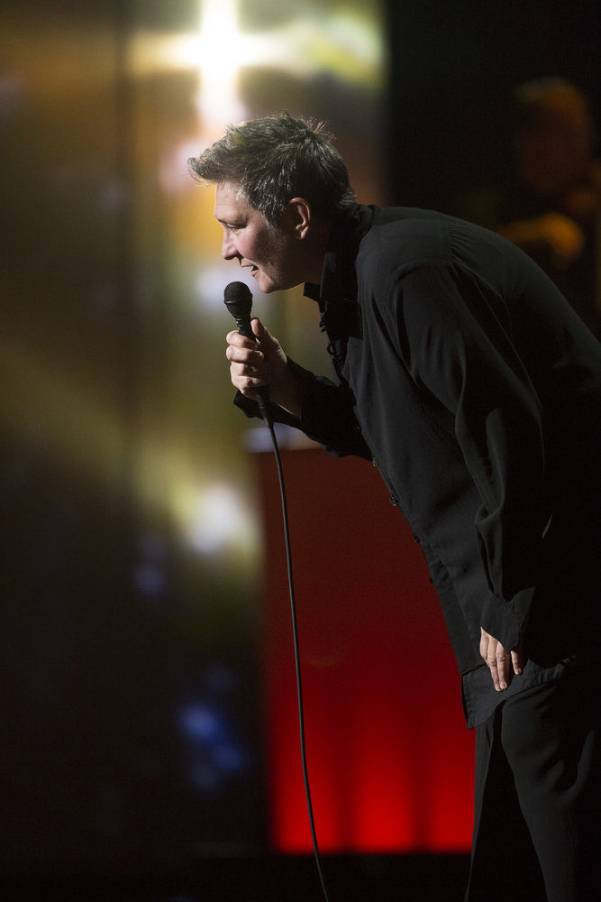 TONY BENNETT CELEBRATES 90: THE BEST IS YET TO COME -- Concert -- Pictured: k.d. lang -- (Photo by: Virginia Sherwood/NBC)
