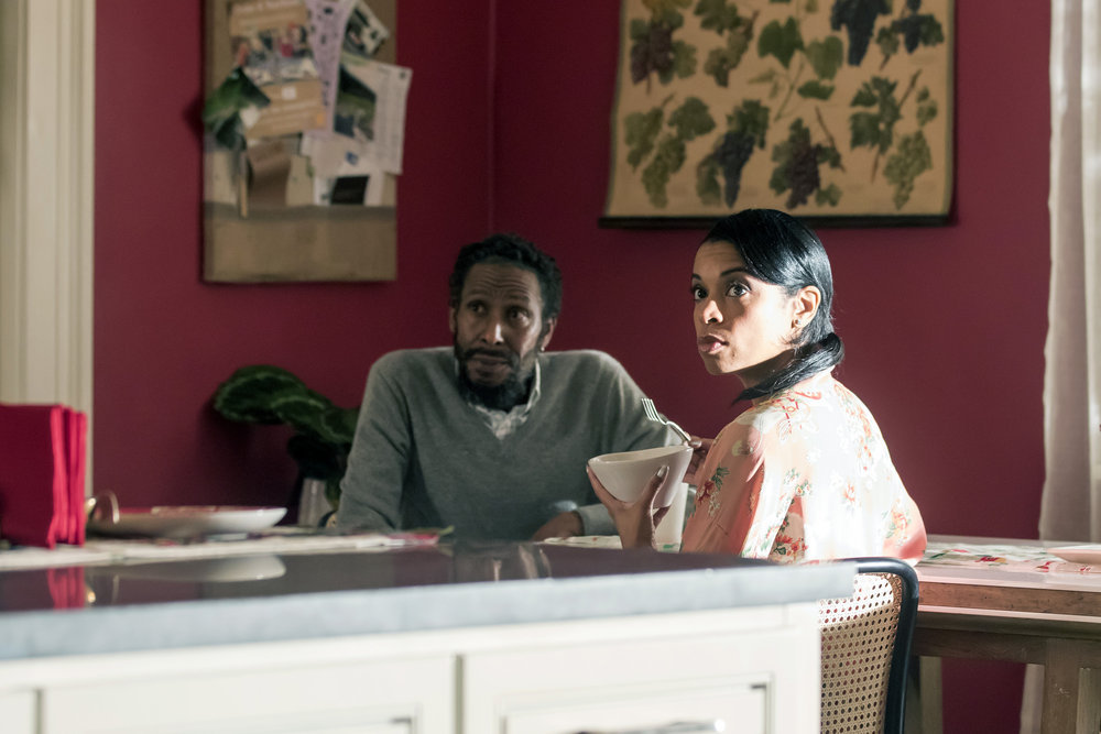 """THIS IS US -- """"The Right Thing to Do"""" Episode 111 -- Pictured: (l-r) Ron Cephas Jones as William Hill, Susan Kelechi Watson as Beth Pearson -- (Photo by: Ron Batzdorff/NBC)"""