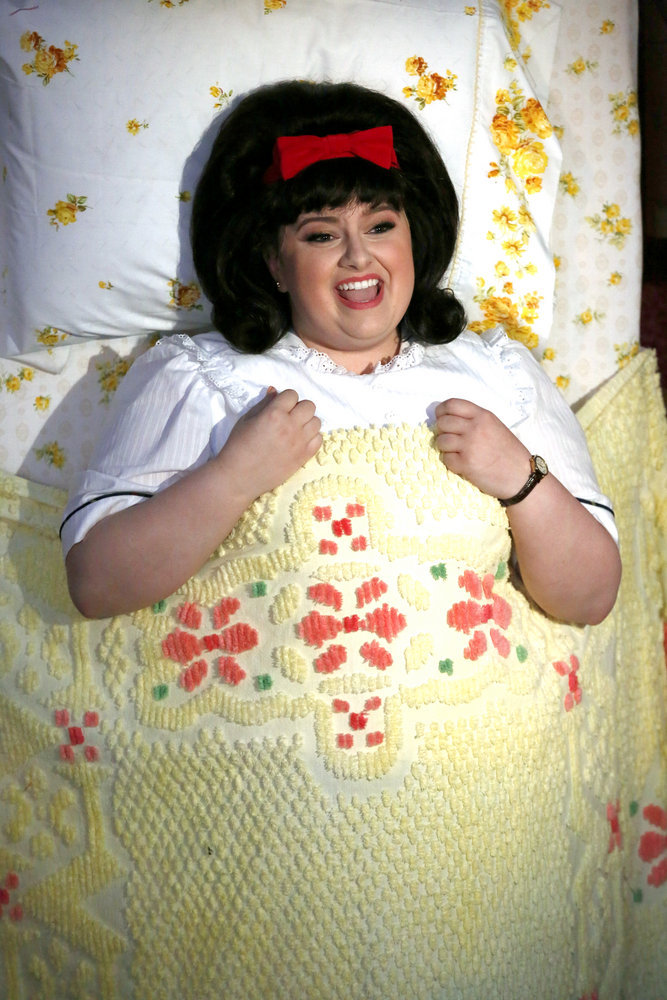 HAIRSPRAY LIVE! -- Pictured: Maddie Baillio as Tracy Turnblad -- (Photo by: Justin Lubin/NBC)