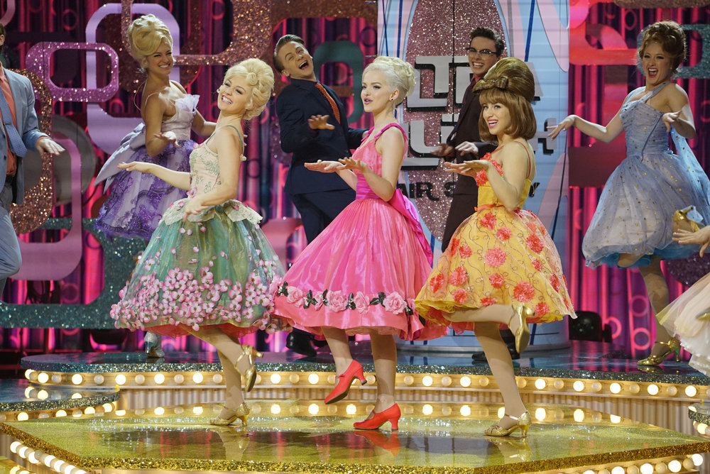 HAIRSPRAY LIVE! -- Pictured: Dove Cameron as Amber Von Tussle -- (Photo by: Paul Drinkwater/NBC)