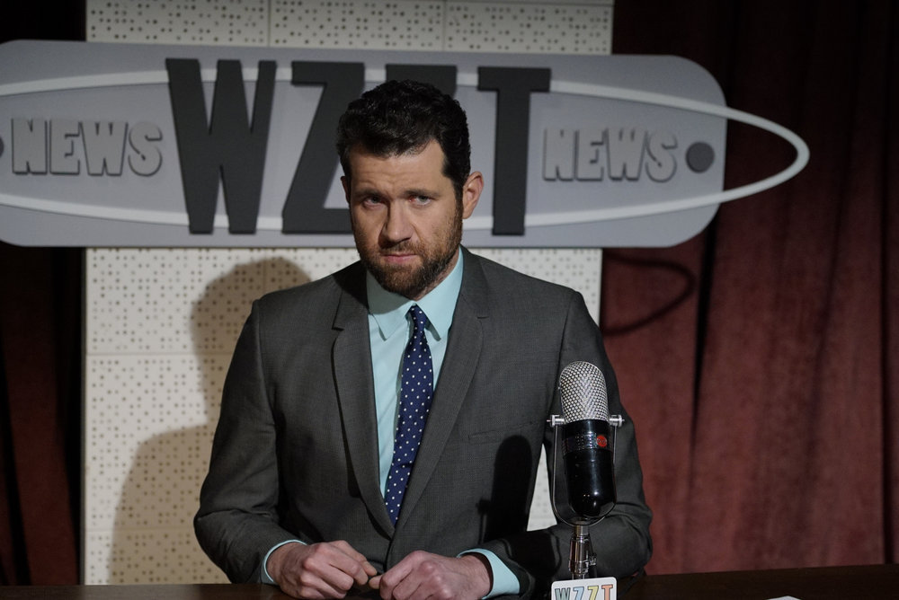 HAIRSPRAY LIVE! -- Pictured: Billy Eichner as Rob Barker -- (Photo by: Paul Drinkwater/NBC)