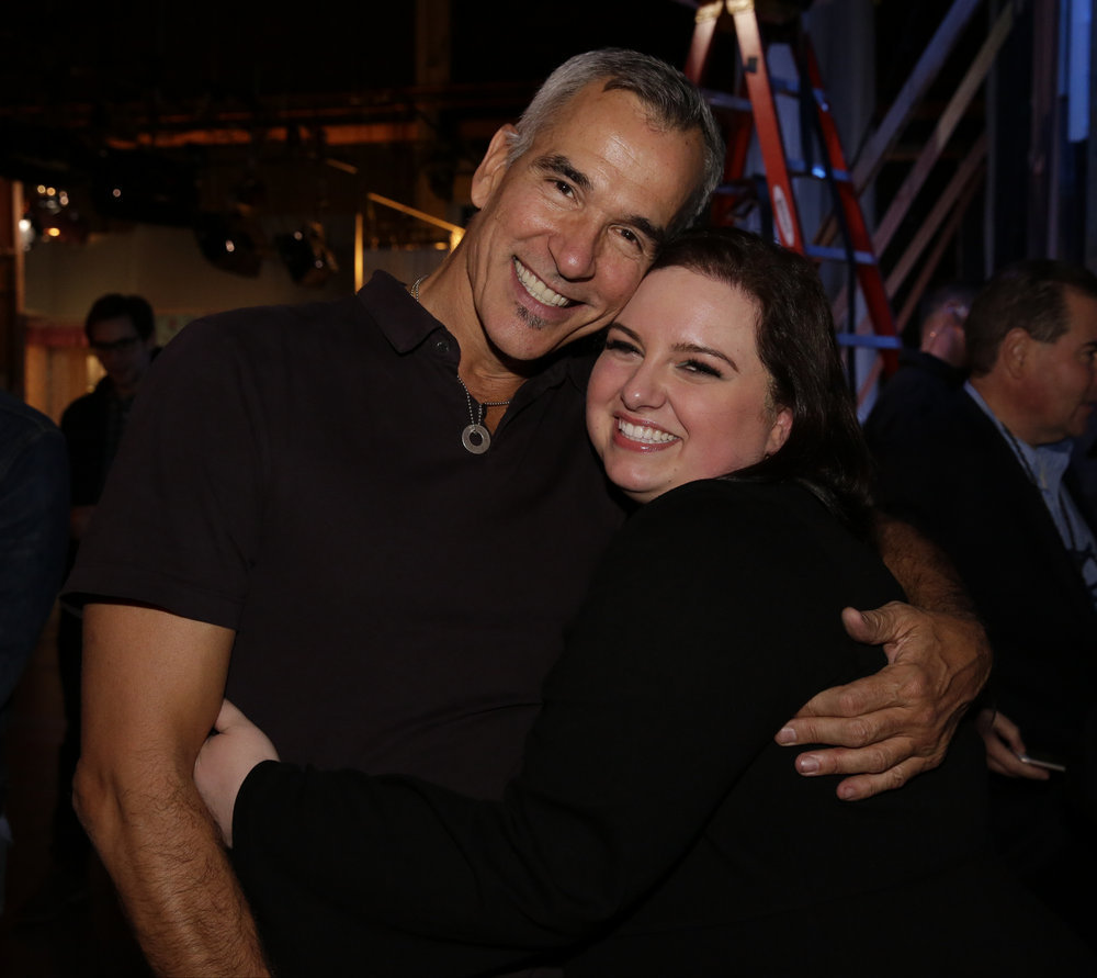 HAIRSPRAY LIVE! -- Pictured: (l-r) Jerry Mitchell, Choreographer / Associate Producer; Maddie Baillio -- (Photo: Paul Drinkwater/NBC)