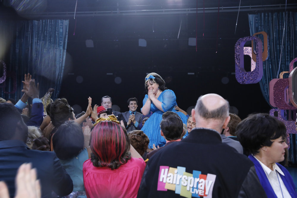 """HAIRSPRAY LIVE! -- """"Live Show Events"""" -- Pictured: Maddie Baillio -- (Photo by: Trae Patton/NBC)"""