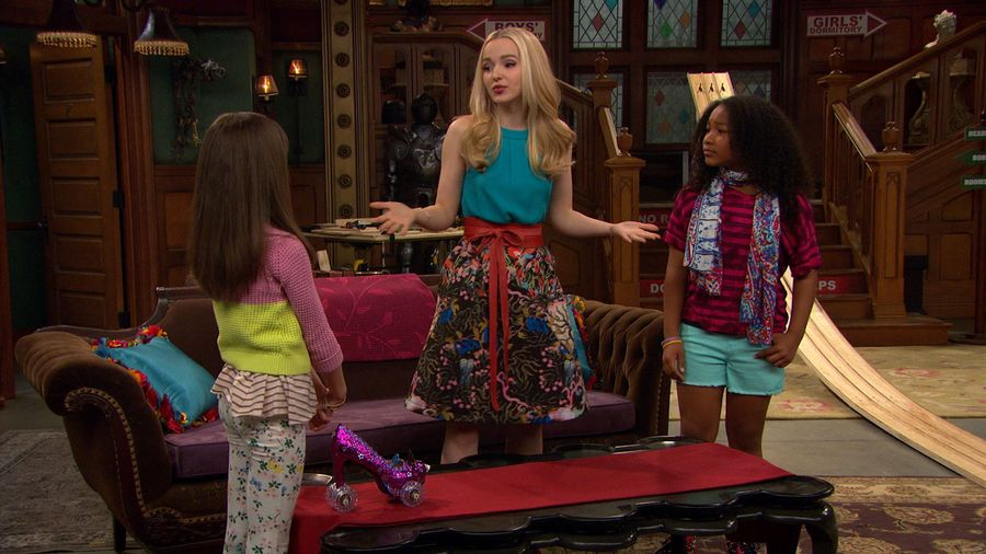 "LIV AND MADDIE: CALI STYLE – ""Roll Model-A-Rooney"" – Liv and her fellow female co-stars of ""Sing It Louder!!"" attempt to break the stereotype that boys are better than girls at 'boy stuff' by organizing a woodblock derby race against the boys. Meanwhile, Maddie and Willow take part in a challenge at their local restaurant which has only been won by men before. This episode of ""Liv and Maddie: Cali Style"" airs Friday, January 13 (5:30 – 6:00 P.M. EST) on Disney Channel. (Disney Channel) DOVE CAMERON, LAYA DELEON HAYES"
