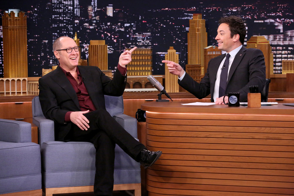 THE TONIGHT SHOW STARRING JIMMY FALLON -- Episode 0607 -- Pictured: (l-r) Actor James Spader during an interview with host Jimmy Fallon on January 20, 2017 -- (Photo by: Andrew Lipovsky/NBC)