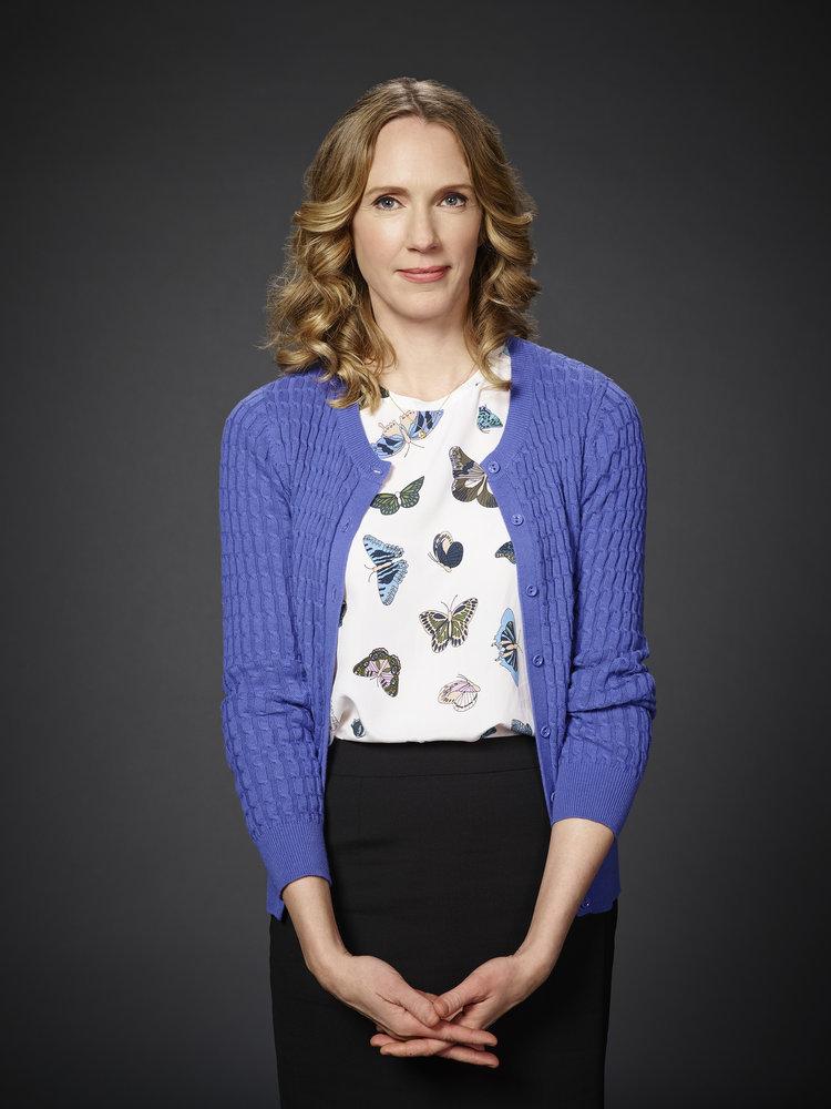 POWERLESS -- Season: 1 -- Pictured: Christina Kirk as Jackie -- (Photo by: Paul Drinkwater/NBC)