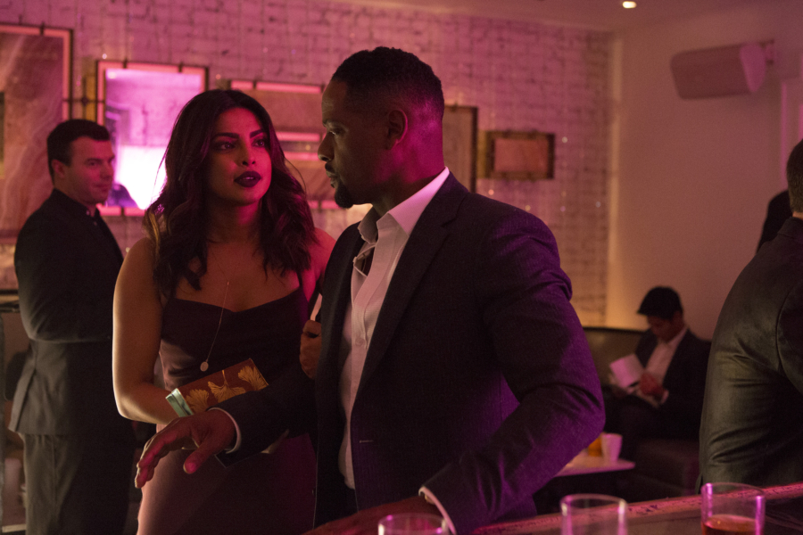 """QUANTICO - """"CLEOPATRA"""" - The recruits are schooled in the art of seduction, which Alex sees as a perfect opportunity to get closer to Owen, but will it threatens her relationship with Ryan? And in the future, Alex finally gets the answers she's been looking for about who and what the terrorists are on, """"Quantico,"""" MONDAY, JANUARY 23 (10:01-11:00 p.m. EST), on the ABC Television Network. (ABC/Giovanni Rufino) PRIYANKA CHOPRA, BLAIR UNDERWOOD"""