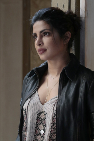 """QUANTICO - """"CLEOPATRA"""" - The recruits are schooled in the art of seduction, which Alex sees as a perfect opportunity to get closer to Owen, but will it threatens her relationship with Ryan? And in the future, Alex finally gets the answers she's been looking for about who and what the terrorists are on, """"Quantico,"""" MONDAY, JANUARY 23 (10:01-11:00 p.m. EST), on the ABC Television Network. (ABC/Giovanni Rufino) PRIYANKA CHOPRA"""
