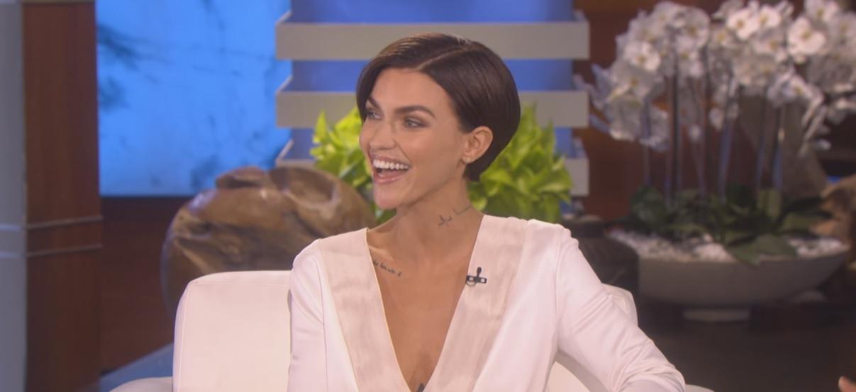 Ruby rose makes debut appearance on the ellen degeneres show watch now - Ellen show address ...
