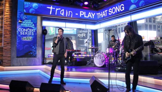 """Train Scheduled To Perform """"Play That Song"""" At Radio Disney Music Awards"""