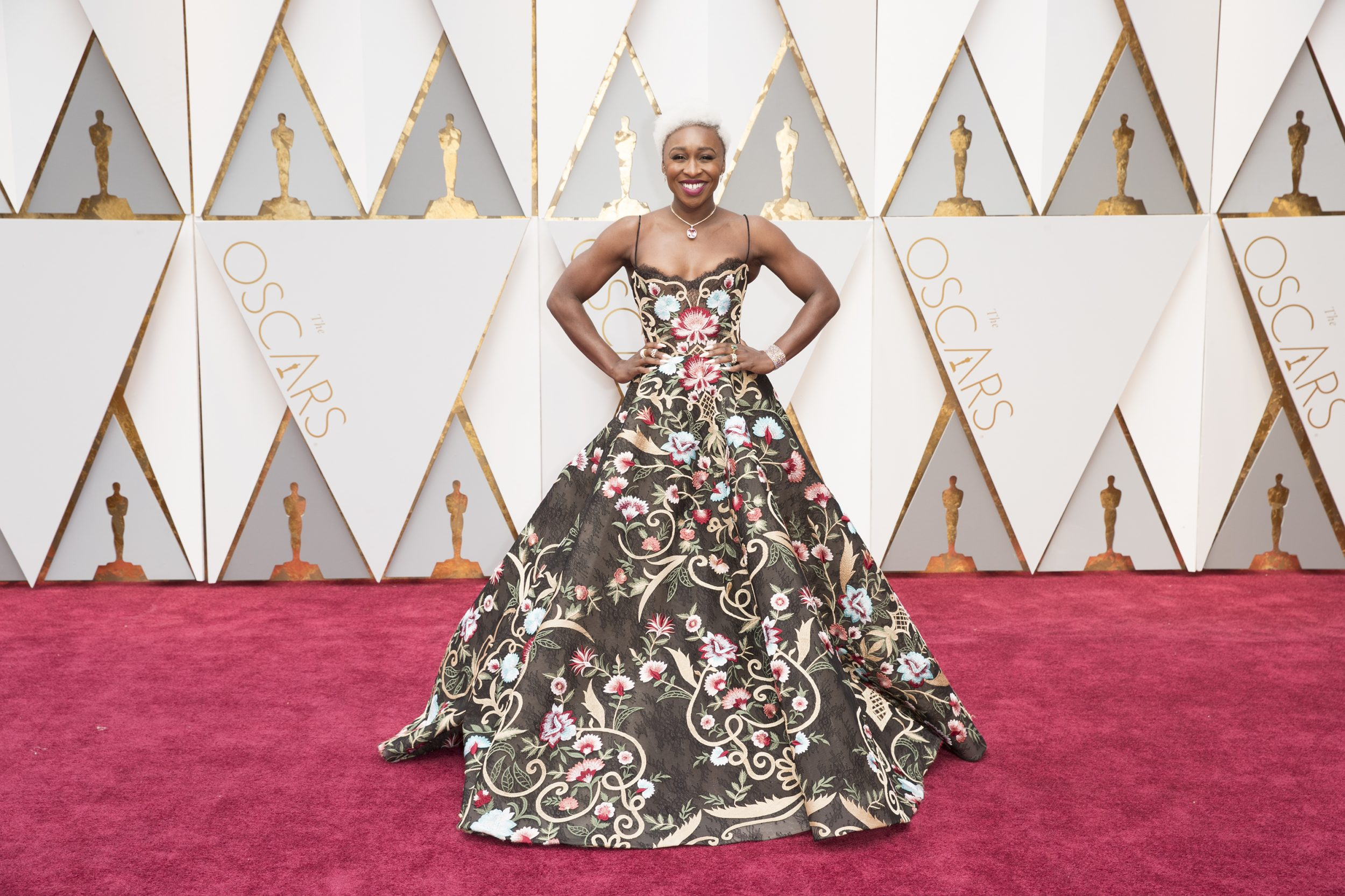 THE OSCARS(r) - The 89th Oscars(r)  broadcasts live on Oscar(r) SUNDAY, FEBRUARY 26, 2017, on the ABC Television Network. (ABC/Tyler Golden) CYNTHIA ERIVO