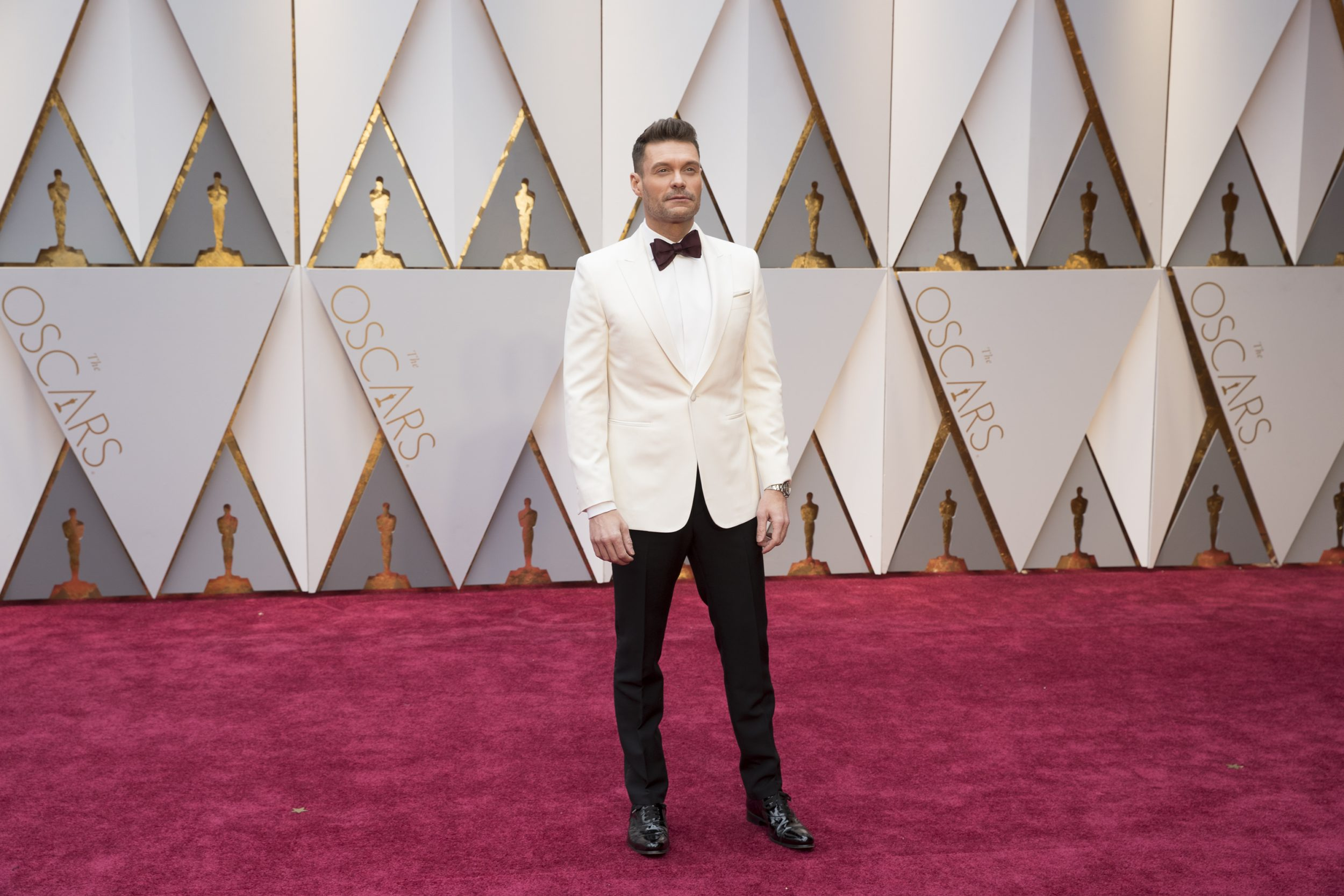 THE OSCARS(r) - The 89th Oscars(r)  broadcasts live on Oscar(r) SUNDAY, FEBRUARY 26, 2017, on the ABC Television Network. (ABC/Tyler Golden) RYAN SEACREST