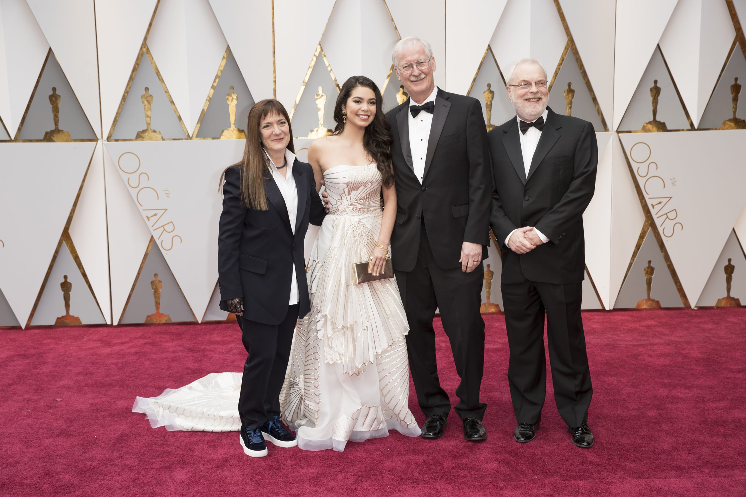 THE OSCARS(r) - The 89th Oscars(r)  broadcasts live on Oscar(r) SUNDAY, FEBRUARY 26, 2017, on the ABC Television Network. (ABC/Tyler Golden) OSNAT SHURER, AULI'I CRAVALHO, JOHN MUSKER, RON CLEMENTS