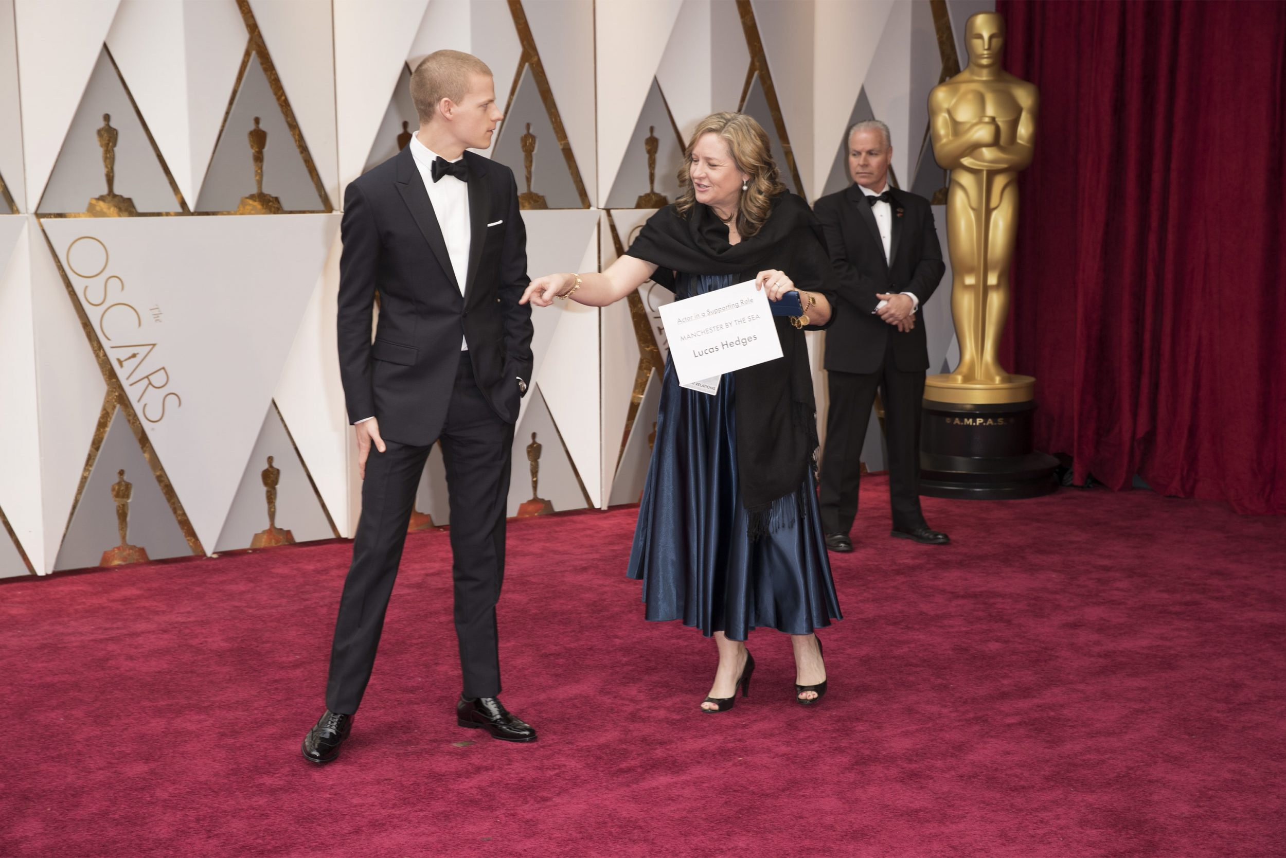 THE OSCARS(r) - The 89th Oscars(r)  broadcasts live on Oscar(r) SUNDAY, FEBRUARY 26, 2017, on the ABC Television Network. (ABC/Tyler Golden) LUCAS HEDGES