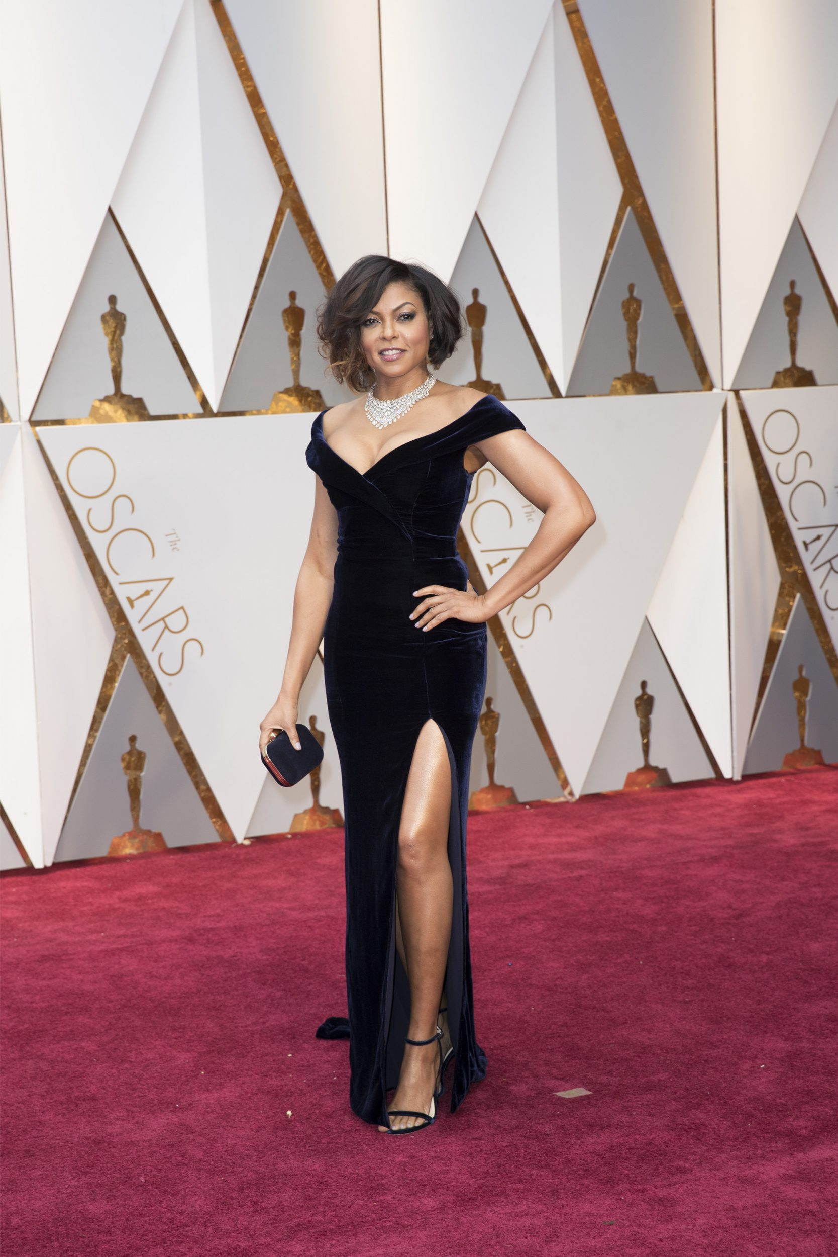 THE OSCARS(r) - The 89th Oscars(r)  broadcasts live on Oscar(r) SUNDAY, FEBRUARY 26, 2017, on the ABC Television Network. (ABC/Tyler Golden) TARAJI P. HENSON