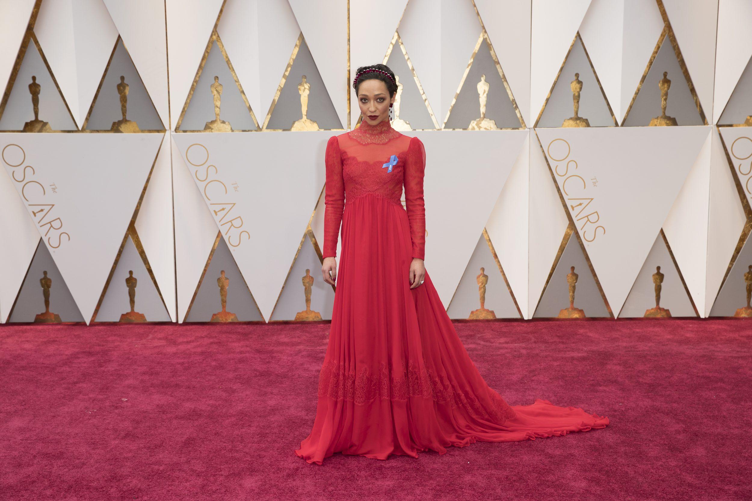 THE OSCARS(r) - The 89th Oscars(r)  broadcasts live on Oscar(r) SUNDAY, FEBRUARY 26, 2017, on the ABC Television Network. (ABC/Tyler Golden) RUTH NEGGA
