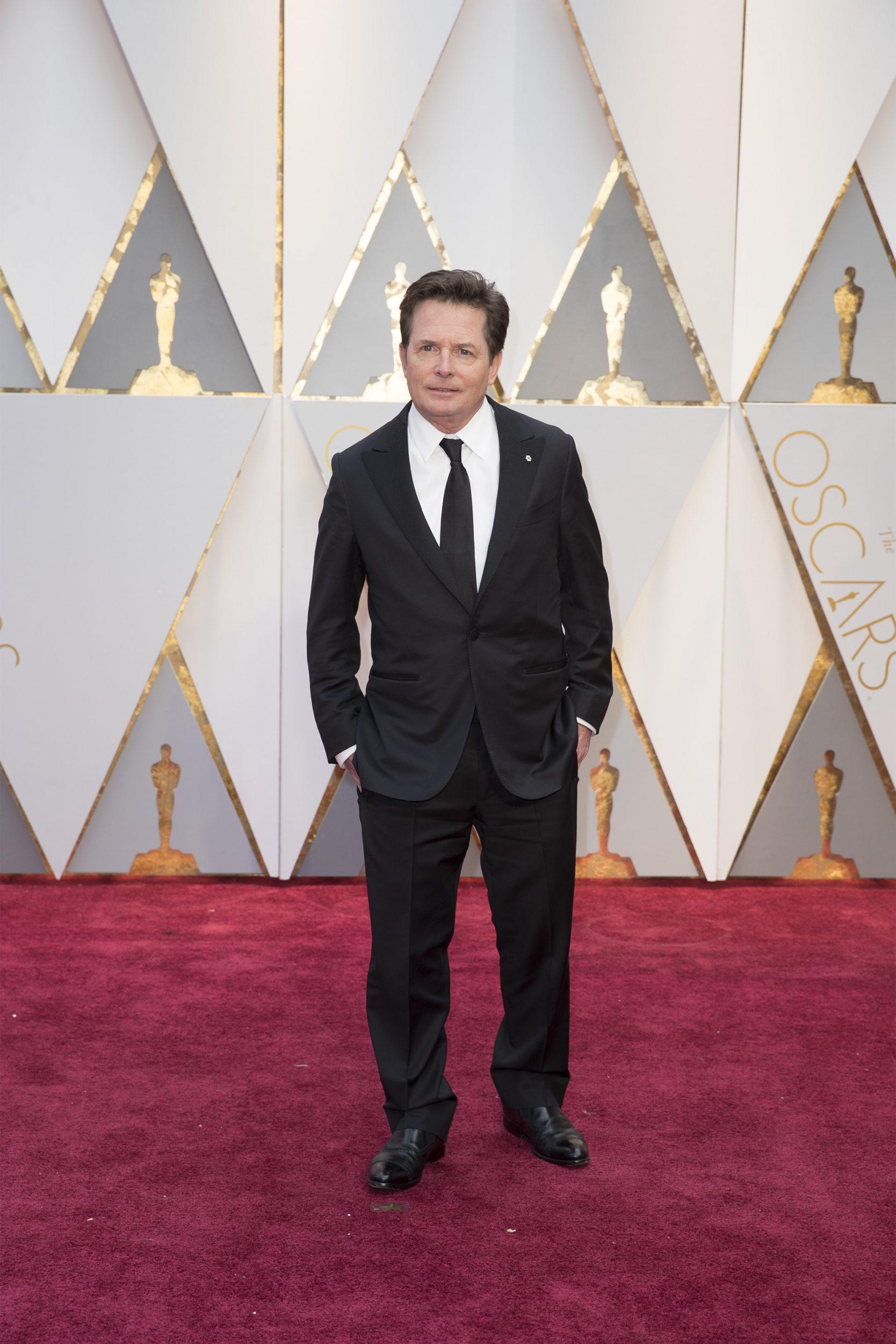 THE OSCARS(r) - The 89th Oscars(r)  broadcasts live on Oscar(r) SUNDAY, FEBRUARY 26, 2017, on the ABC Television Network. (ABC/Tyler Golden) MICHAEL J. FOX